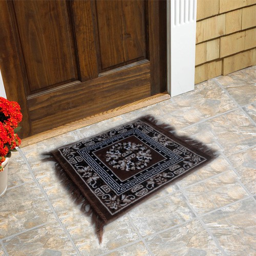 Firangi Polyester Free Floor Mat Firangi Designer Multipurpose Carpet