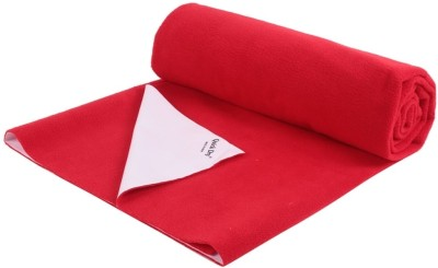 Quick Dry Cotton, Rubber Extra Large Sleeping Mat Bed Protector - 2.2m x 1.4m (Single Bed )