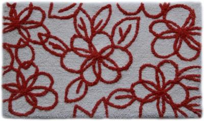 Paramorasi Cotton Medium Bath Mat Bell Flower