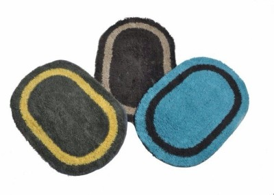 Optimistichomefurnishing Cotton Medium Floor Mat Floor Mats