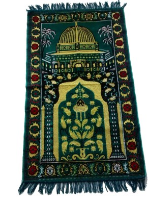 Fiable Polyester Large Prayer Mat Janemaz - (Blue)(Blue, 1 Janemaz)