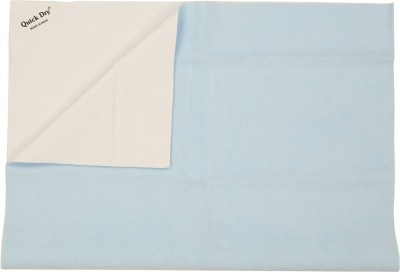 quick dry Rubber Large Baby Bed Protecting Mat Mat Waterproof Sheet Large-Sky Blue(Blue)