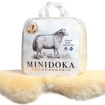 Desert Breeze Distributing Wool Medium Play Mat Luxurious Sheepskin Baby Rug