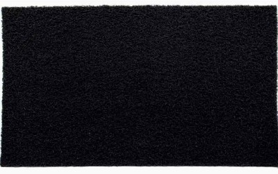 Lukluck PVC Medium Door Mat Pvc Floor Mat-Black