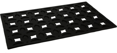 SWHF Rubber Large Door Mat SWHF Large Rubber Floral Cutout Mat