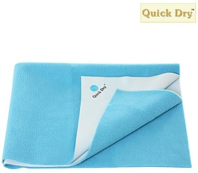 Quick Dry Cotton Extra Large Changing Mat Quick Dry Plain Single Bed Cyan