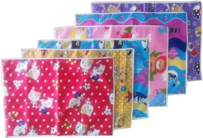 Tag Products Plastic, Cotton Medium Sleeping Mat Set of 6 Waterproof Baby Sheets