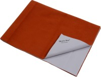 Quick Dry Microfiber Large Baby Bed Protecting Mat Mat Bed Protector(Toffee, 1 Mat)