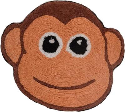 Homefurry Cotton Medium Floor Mat Mad Monkey
