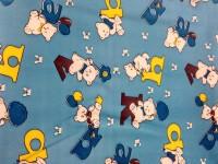 Goodluck Rubber Medium Sleeping Mat Waterproof Sheets(Blue, 1 blue mat)