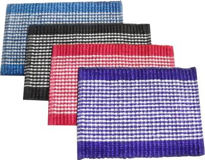 India Furnish Acrylic Medium Door Mat India Furnish Cotton Viscose Designer Footmat - Set of 4 pcs (15