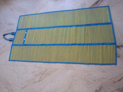 Jupiter Gifts and Crafts River Grass Free Camping Mat Bamboo Mat (Blue)(Blue, 1 Mat)