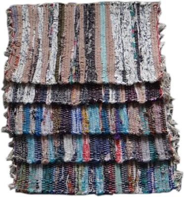 Krishna Carpets Cotton Small Door Mat Chindi