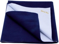 Quick Dry Cotton Small Baby Bed Protecting Mat Mat Navy Blue(Navy Blue)