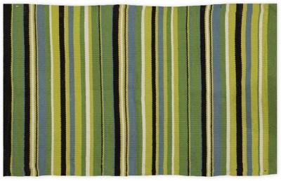 Po Box Cotton Free Floor Mat Floor Rug(Green, 1 Floor Mat)