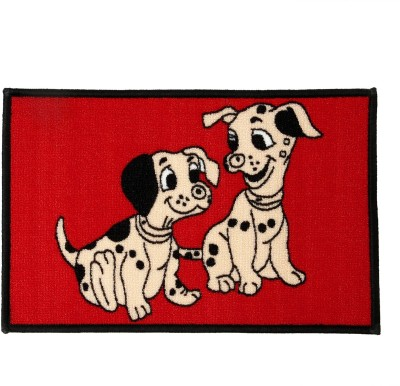 Dreaming Cotton Rubber Small Door Mat Nylon Loop Pile Backing