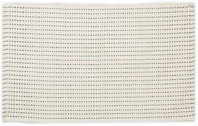 Po Box Cotton Free Floor Mat Floor Rug(Beige, 1 Floor Mat)