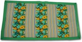 Kala Darshan Crafts Bazaar Cotton Sleeping Mat Happy Folding eco friendly Grass Mat(Green, Medium)