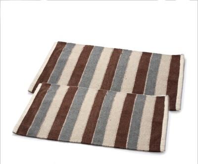 Teeta Cotton Medium Door Mat Teeta Doormats Set Of 2