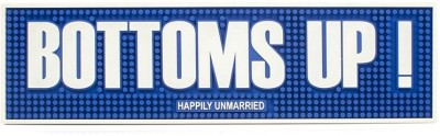 Happily Unmarried PVC Small Play Mat Bottoms Bar Mat