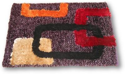 Sudesh Handloom Non-woven Small Door Mat Geomatical Design Door Mat