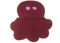 Krishna Carpets Cotton Bath Mat KC-058(Maroon, Medium)