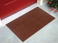 Status Nylon Door Mat Floor(Brown, Medium)