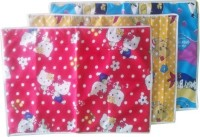 Wow n Awesome Cotton Medium Changing Mat 3mltclrbabymats(Multicolor, 3 Mat)