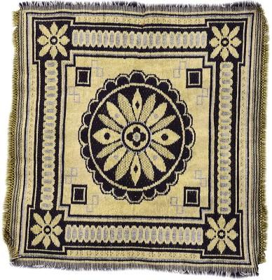 Light Gear Cotton Small Prayer Mat Pooja Aasan(Multicolor)