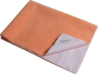 quick dry Microfiber Extra Large Sleeping Mat Bed Protector - Single Bed(Peach, 1 Mat)