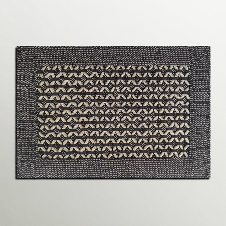 Firangi Cotton, Polyester Free Door Mat Firangi Diamond Rope Door Mat