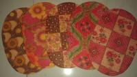 Passion Exports Polyester Door Mat Bath Mat Printed Pp Door Mat Set Of 5 Pieces(Multicolor, Small)