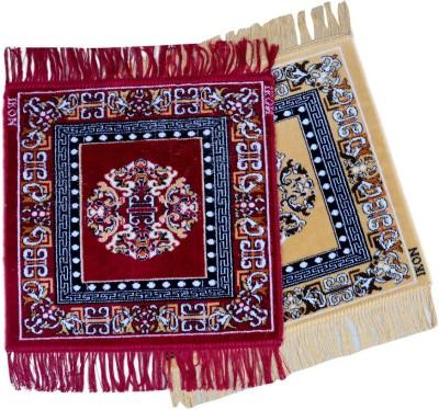 El Sandalo Acrylic Medium Prayer Mat Designer Puja Mat