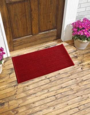 Carpet House Vishali PVC Extra Large Door Mat Solid Make