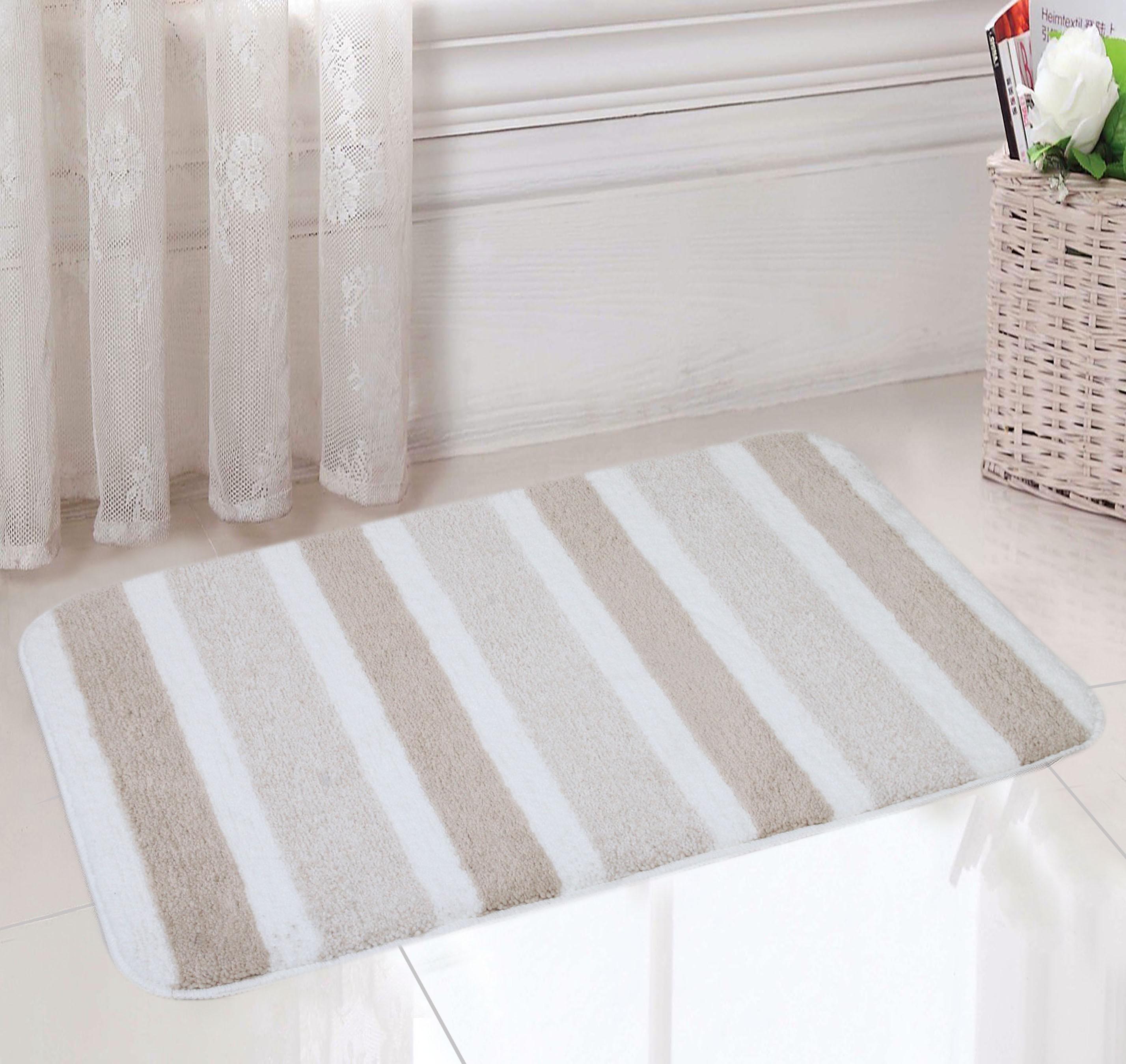 Saral Home Polyester Medium Bath Mat Bathmat