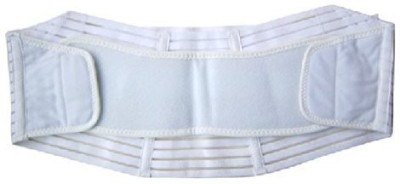Healthandyoga White Maternity Belt (Xtra Large)(White)