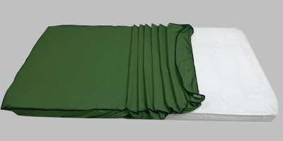 Dream Care Fitted King Size Mattress Protector(Green)
