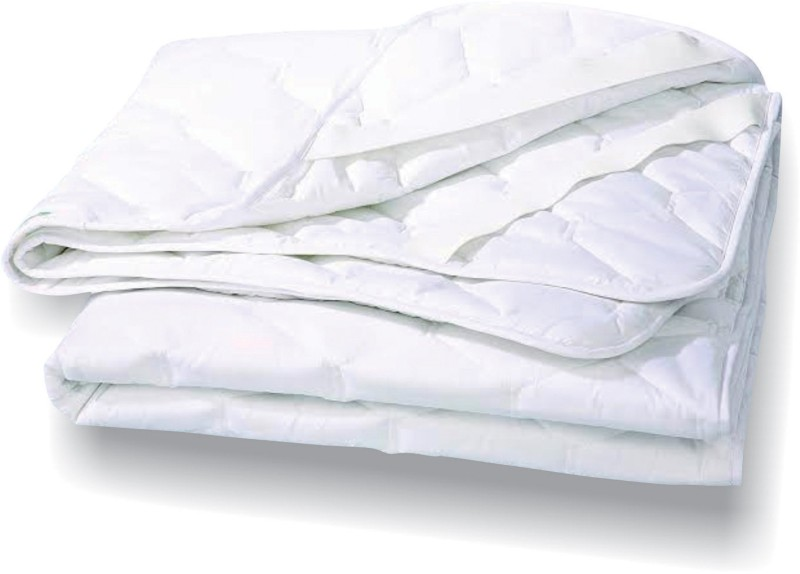 Tuktuk Fitted Twin Size Mattress Protector(White)