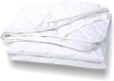 Agarwal Fashion Elastic Strap Queen Size Mattress Protector(White)