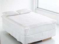 Sovam Fitted King Size Mattress Protector(White)