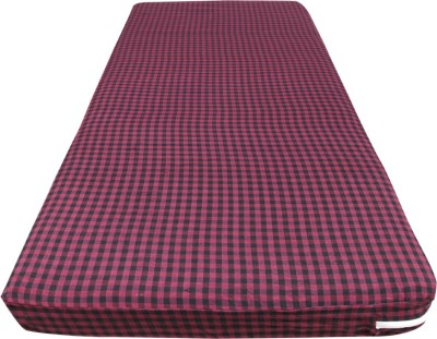 Rising star Zippered Standard Size Mattress Protector(Maroon, Black)