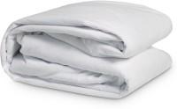 Kamyaart Elastic Strap Single Size Mattress Protector(White)