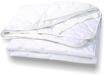 Sheetal Elastic Strap XL Size Mattress Protector(White)