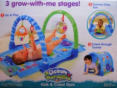 Imported Kick & Crawl Baby Play Gym