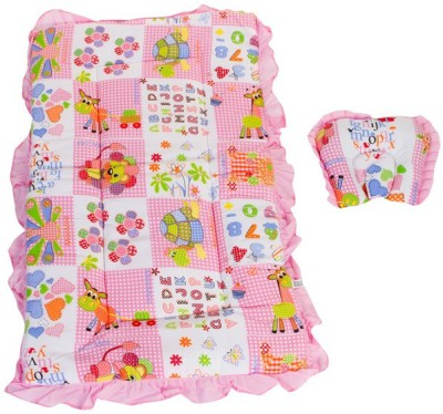 Mee Mee All Over Multi Printed Mattress Set