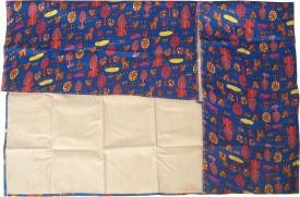 OPQ Newborn Baby Waterproof Bed Protector(Blue)