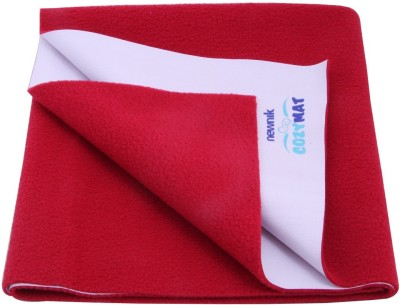 Newnik Cotton Extra Large Sleeping Mat Single Bed - Maroon