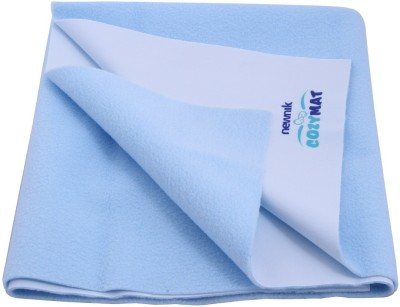 Newnik Cotton Extra Large Sleeping Mat Double Bed - Sky Blue