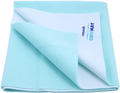 Newnik Cotton Extra Large Sleeping Mat Double Bed - Sea Green