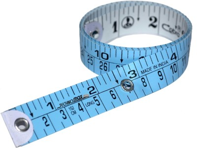 Techno Max Sewing Measuring Ruler Extra Heavy Durable Quality Tailors Measurement Tape(1.5 Metric)
